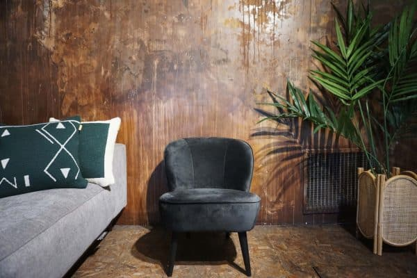 Fauteuil Lounge - Anthracite (1)