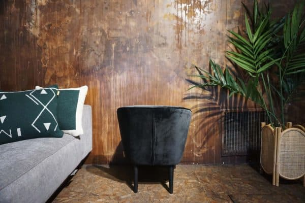 Fauteuil Lounge - Anthracite (3)