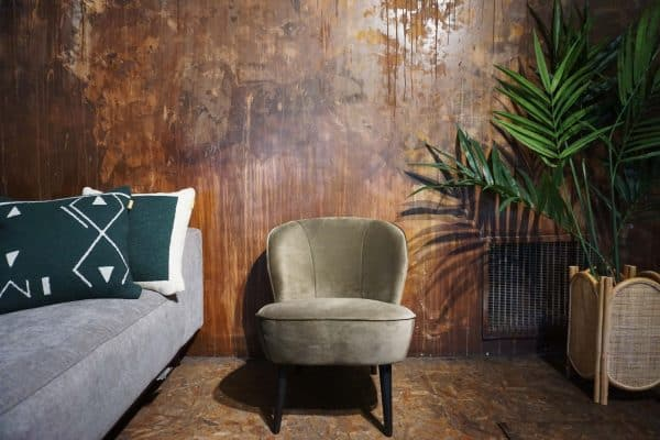 Fauteuil Lounge - Olive Gold (1)
