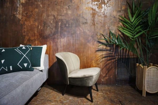 Fauteuil Lounge - Olive Gold (2)