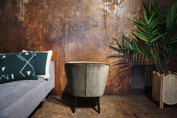 Fauteuil Lounge - Olive Gold (3)