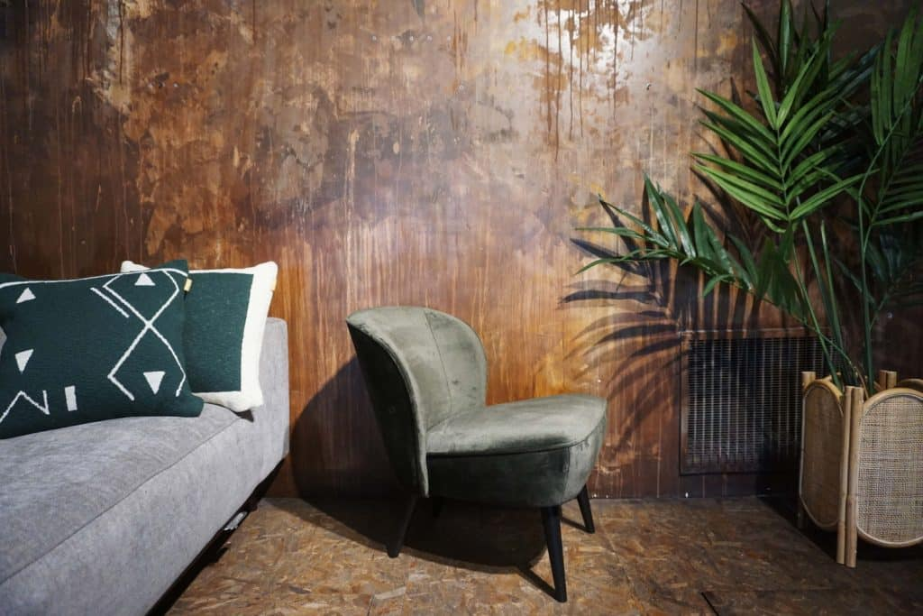 Fauteuil Lounge - Warm Green (2)