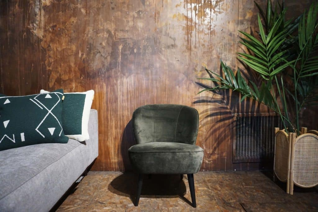 Fauteuil Lounge - Warm Green (3)